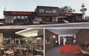 3-views,  Motel Ideal,  Mont Laurier,  Quebec,  Canada,  PU-40-60s