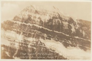 RP, JASPER NATIONAL PARK, Alberta, 1910-20s; Top of Mt. Cavell