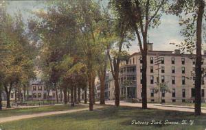 Scenic view,  Pulteney Park,  Geneva,  New York,  PU_1911