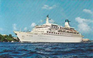 Ocean Liner M/S Sea Venture , Bermuda , 50-60s