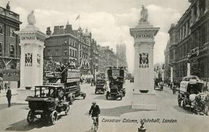 UK - England, London, Canadian Column at Whitehall