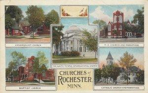 Churches of ROCHESTER, Minnesota, 1928