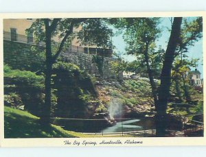 Pre-1980 NATURE SCENE Huntsville Alabama AL AD3887