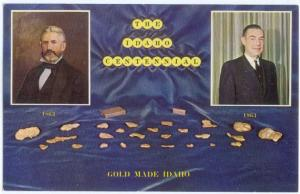 The Idaho Centennial, Gold Made in Idaho ID
