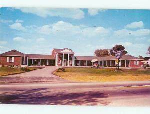 Postcard Shelby Motel Shelby KY # 545A