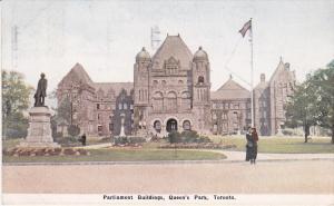 Parliament Buildings , Queen's Park , TORONTO , Ontario , Canada , PU-1923
