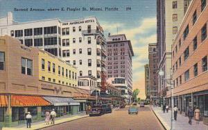 Florida Miami Second Avenue Above East Flagler Street
