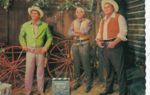 Bonanza Michael Landon Lorne Greene and Dan Blocker