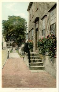 MA - Nantucket. Union Street