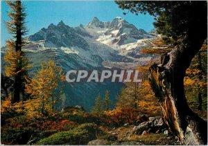 Postcard Modern Obergabelhorn Wellenkuppe und bei Zermatt