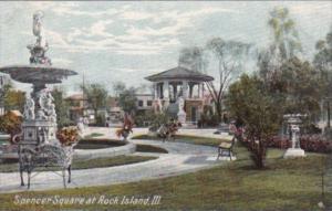 Illinois Rock Island Spencer Square 1907