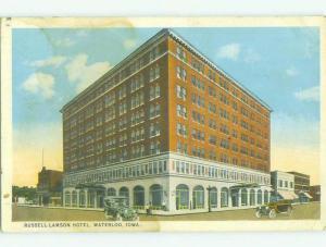W-Border RUSSELL LAMSON HOTEL Waterloo Iowa IA HQ4662