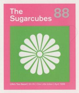 The Sugarcubes Of Bjork Life's Too Good LP Postcard