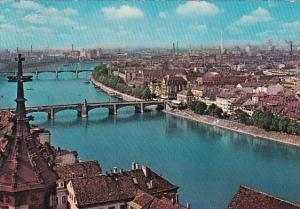 Switzerland Basel Panorama 1964