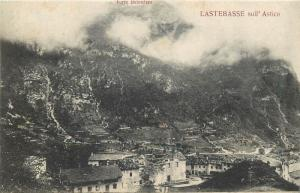 Italy Lastebasse in Vald'Astico Paese Bombardato Country Bombed