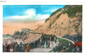 Seal Rocks, Cliff House and Sutro Heights, San Francisco, Cal.