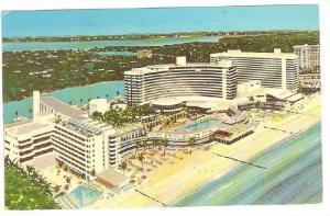 Frontainebleau, Miami Beach,   Florida,   PU-1973