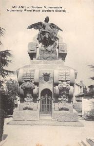 Italy Milano, Cimitero Monumentale Monumento Pierd'Houy (Scultore Giudici)