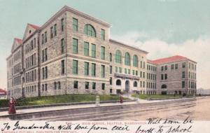 High School , SEATTLE , Washington ; PU-1909