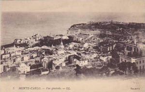 Vue Generale, Monte-Carlo, Monaco, 1900-1910s