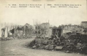 CPA Militaire (Dep.55) Revigny - Rue de Vitry (91913)