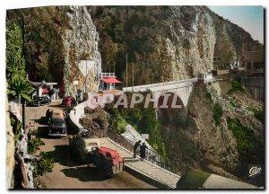 Modern Postcard Frontiere Franco Menton italiene The Pont Saint-Louis