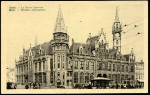 belgium, GAND GENT, Central Post Office (1930s)