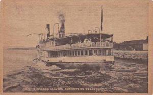 Steamer Ferry, Empress leaving Ste. Anne of Bellevue, PU-1930