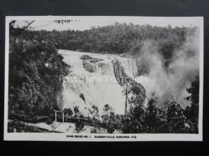 Australia Queensland KURANDA BARRON FALLS - Old RP Postcard by Murray No.1