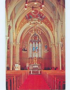 Unused Pre-1980 CHURCH SCENE Stratford Ontario ON A7426