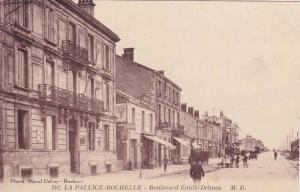 LA PALLICE-ROCHELLE,Boulevard Emile-Delmas, Charante Maritime, France, 10-20s
