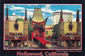 The World Famous Chinese Theatre On Hollywood Boulevard Hollywood California