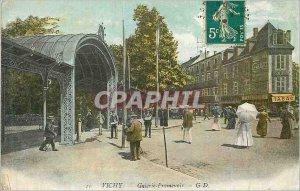 Postcard Old Vichy Galeirie Promenoir Tobacco