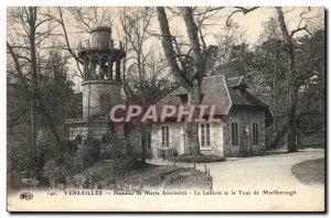 Old Postcard Versailles Hamlet Marie Antoinette La Laiterie and Marlborough t...