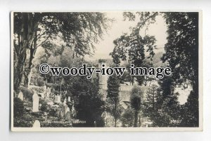 tp0697 - Cornwall - St.Just-in-Roseland Church & Cemetry, from Trees - Postcard