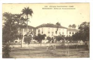 Afrique Occidental, Hotel Du Gouvernement, Konakry, Guinea, Africa, 1900-1910s