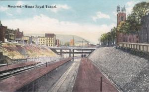 MONTREAL, Quebec, Canada, 1900-1910's; Mount Royal Tunnel