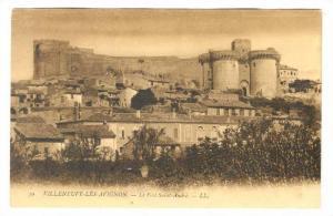 Le Fort Saint-Andre, Villeneuve-lès-Avignon (Gard), France, 1900-1910s