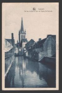 108846 Belgium LOUVAIN Tower of St. Gertrude Church Vintage PC