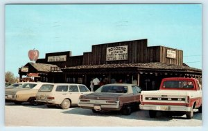 LINCOLN, AR Arkansas ~ RODGERS ORCHARDS 1975 Cars Roadside  Postcard