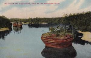 Wisconsin Ink Stand And Sugar Bowl Dells Of The Wisconsin River
