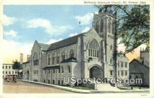 Methodist Episcopal Church Mt. Vernon OH 1939