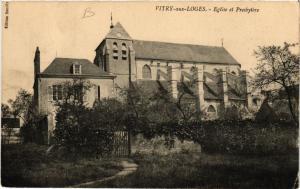 CPA VITRY-aux-LOGES Église et Presbytere (608095)