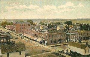 Birdseye View Davidson Michigan David #90 1909 Postcard 9452