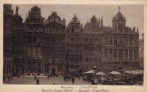 Grand' Place, Store Fronts, BRUXELLES, Belgium, 1910-1920s