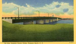 NH - Hampton Beach, The New Hampton Harbor Bridge