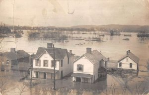 Parkersburg West Virginia Flood Disaster View from Convent Real Photo PC AA14781