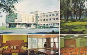 5 Views, Exterior, Interior, Courtyard, Grey Nuns' Retreat House, Chateauguay...