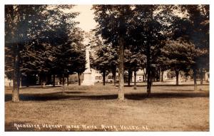 Vermont  Rochester Park, Monument ,  RPC