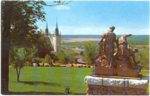 Martyrs' Shrine, Midland, Ontario, Canada, Chrome